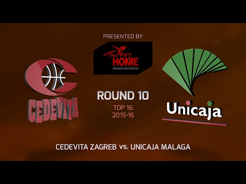 Highlights: Top 16, Round 10, Cedevita Zagreb 78-91 Unicaja Malaga