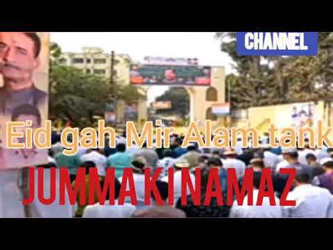 Hyderabad Mir Alam tank Eid gah news channel 9