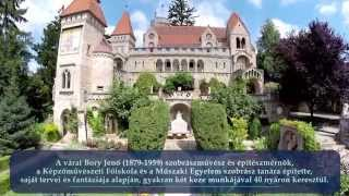 Szekesfehervar Hungary  city images : Bory-vár Székesfehérvár - Drone Video Hungary