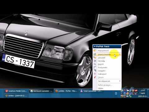 Képernyő fényképezése (screenshot)