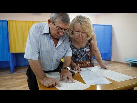 Ουκρανία: Άνοιξαν οι κάλπες