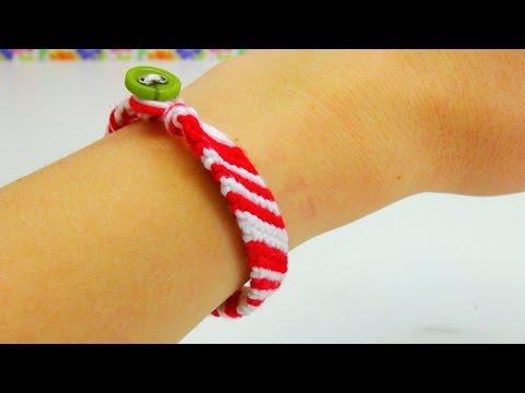 Knüpfen Armband DIY Inspiration ADVENTSKALENDER TÜRCHEN #20 | Eva und Kathi's Adventskalender