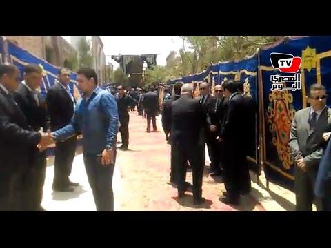 وصول جثمان «النائب العام» لمقابر الأسرة بالقاهرة