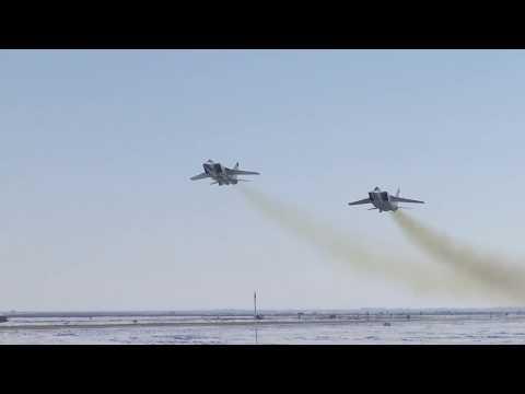 Экипажи ВКС выполнили практический пуск ракеты комплекса «Кинжал»