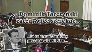 H I T GAJEWSKA MASAKRUJE POSŁA PiS TARCZYŃSKIEGO
