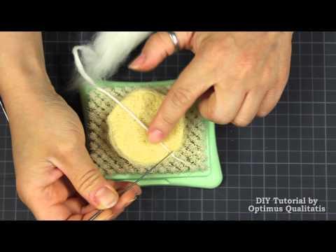 DIY Trockenfilzen Werkzeuge + Projekt