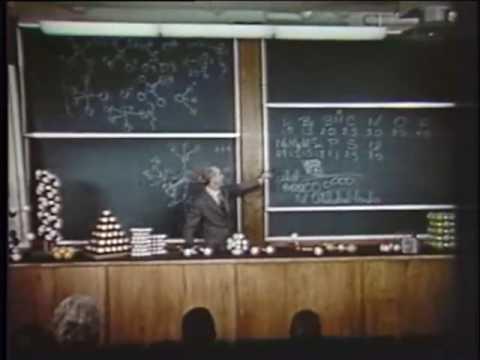 Vortrag von Linus Pauling : Valenz und Molekülstruktur Teil 3