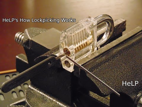 Closeup on How Lock Picking Works