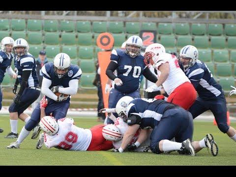 1st American Football 2014 Day 2 – FISU World University Championships