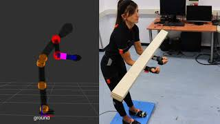 An Online Method to Detect and Locate an External Load on the Human Body