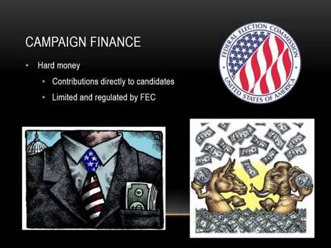 3.16 Campaign Finance and PACs AP Gov