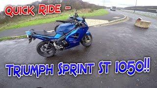 10. #189 Quick Ride - Triumph Sprint ST 1050!!