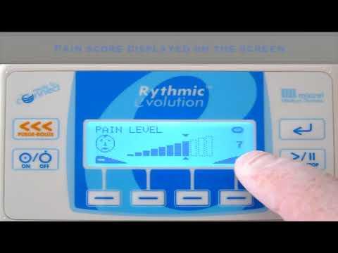 6 Pain level - Hướng dẫn sử dụng bơm tiêm giảm đau Rythmic Micre