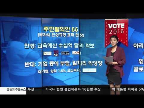 [2016 미 대선 포커스]  11.4.16 KBS America News
