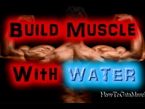 Bodybuilding Diet – Drinking Water Helps Build Muscle And Lose Fat? [HD]
