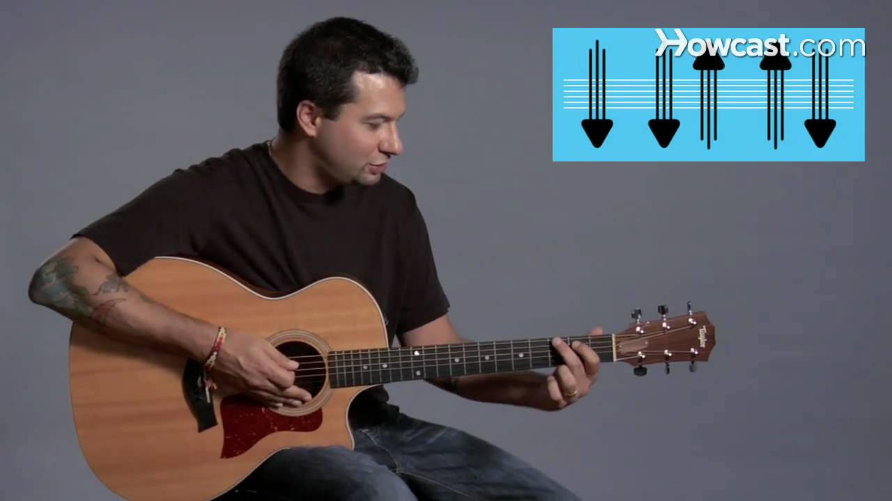 How to Play Strum Pattern #1   Guitar Lessons