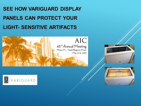 VariGuard Exhibition at AIC Meeting (May 13-15, 2015)