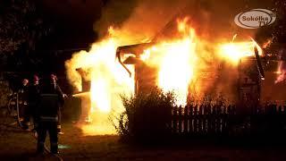 Film do artykułu: Pożar domu w Parczowcach....