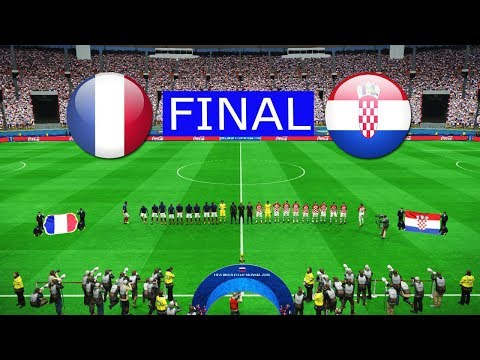 PES | FRANCE Vs CROATIA FINAL | FIFA World Cup 2018 | Full Match | Gameplay PC