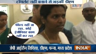 Panna India  City pictures : MP: Panna DM Gets Miffed On Engineers Over Delay In Construction Of Toilets In The District