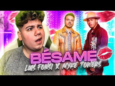 [REACCIÓN] Luis Fonsi, Myke Towers - Bésame (Official Video)