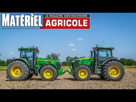 Comparatif exclusif John Deere 7215R vs 7930