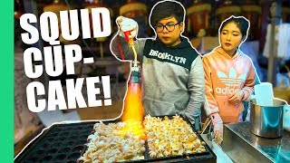 Video Roasted Squid Cupcakes! (Plus 9 other UNIQUE STREET FOODS in Taipei's Famous Night Market) MP3, 3GP, MP4, WEBM, AVI, FLV Agustus 2019