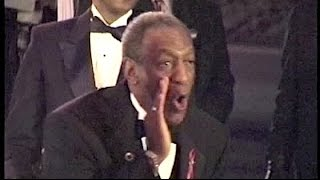 BILL COSBY receives boos  . . . and sends boos back at People's Choice Awards
