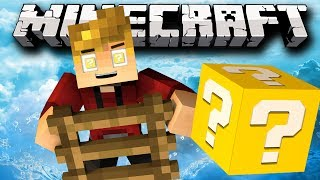 Minecraft Lucky Block Modded LUCKY LADDERS Challenge Mini-Game! w/ Lachlan&Friends