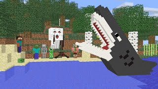 Video Monster School : Fishing Challenge - Minecraft Animation MP3, 3GP, MP4, WEBM, AVI, FLV Agustus 2017