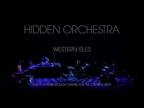 Hidden Orchestra - Live at Attenborough Centre for the Creative Arts online metal music video by HIDDEN ORCHESTRA