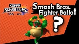 Has King K Rool Won Smash Bros Ballot ? Nintendo Trademarks His Name in VC Release