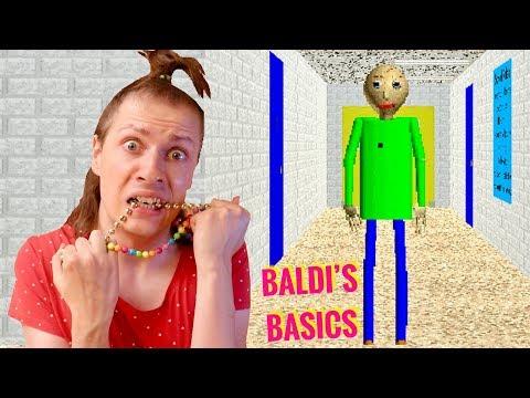 BALDI'S BASICS : LE JEU LE PLUS BIZARRE ! NADEGE CANDLE