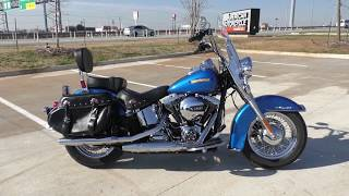 6. 024366   2017 Harley Davidson Heritage Softail Classic   FLSTC - Used motorcycles for sale