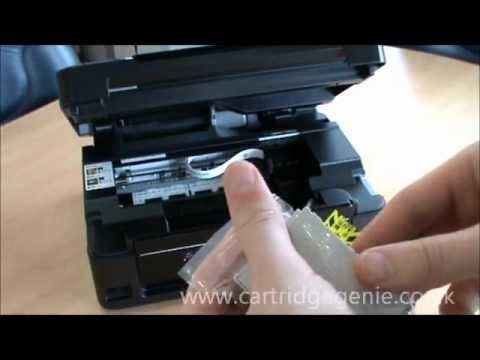 how to fit epson ink cartridges