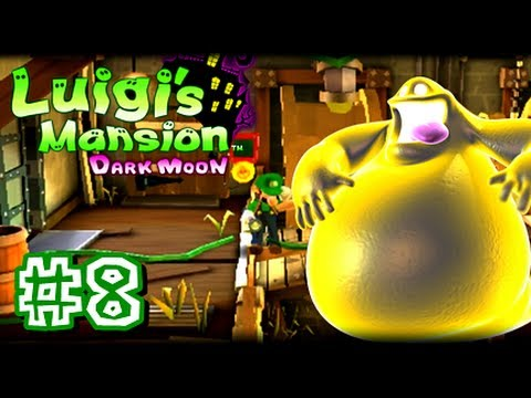 Luigi's Mansion - This is my 1080p HD Let's Play of Luigi's Mansion Dark Moon for the Nintendo 3DS! This is part 8 and in this video we start off the second mansion, Haunted T...