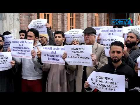 JRL protests against slapping of PSA on Yasin Malik, JeI ban
