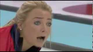 Hilarious Sounds Of Women's Curling - 2014 Olympics Sport
