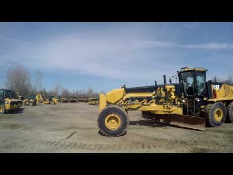 CATERPILLAR MOTORGRADER 16M equipment video ur5U4lazSvM