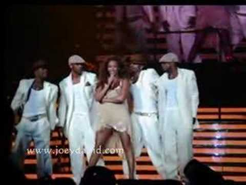 Beyonce concert wardrobe malfunction, Toronto Aug 15,07
