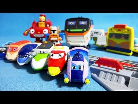 또봇 트레인 히어로 뽀로로 또봇 팽이 또봇 슈터 뽀로로 뚜뚜 장난감 toys Train Heroes Tobot Pororo
