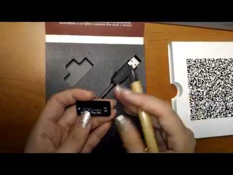 Digital Voice Recorder Edic-mini Tiny+ B70 (видео)
