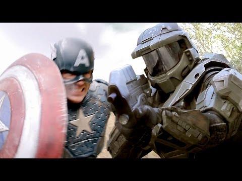 CAPTAIN AMERICA vs MASTER CHIEF – Super Power Beat Down (Episode 11)