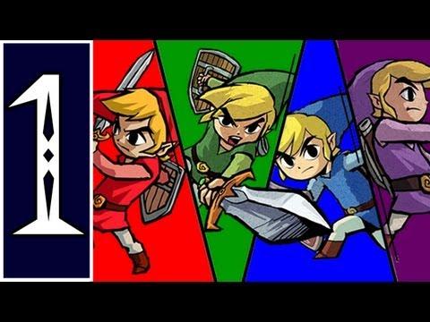 the legend of zelda four swords adventures gamecube review