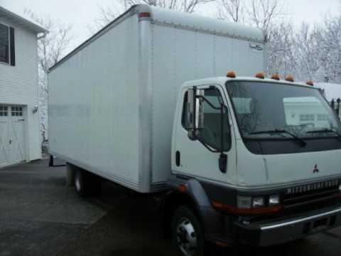1999 Mitsubishi FH 22Ft. Box Truck Diesel CLEAN - VIDEO!