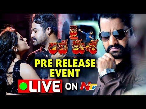 Jai Lava Kusa Pre Release Event    NTR, Rashi Khanna,Nivetha Thomas    #JaiLavaKusaTrailerday (видео)