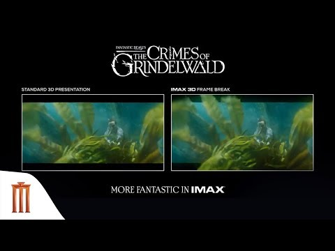 Fantastic Beasts: The Crimes of Grindelwald - IMAX 3D Frame Break Underwater