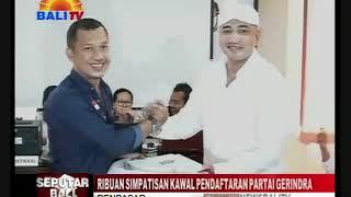 Download Video RIBUAN SIMPATISAN KAWAL PENDAFTARAN PARTAI GERINDRA MP3 3GP MP4