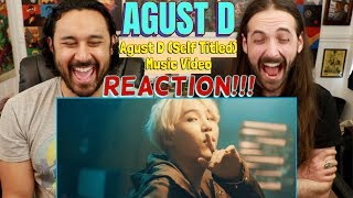 AGUST D | Agust D Music Video - REACTION!!! by The Reel Rejects