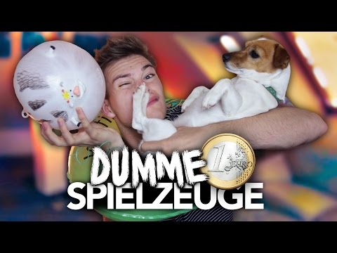 DUMME 1 EURO SPIELZEUGE IM TEST mit Hund | Joey's Jungle